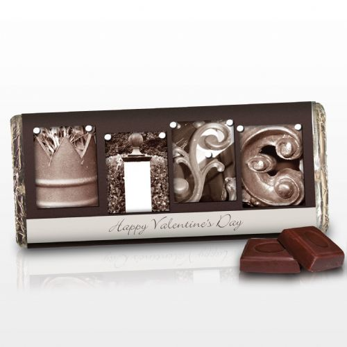 Personalised Affection Art Wife Chocolate Bar
